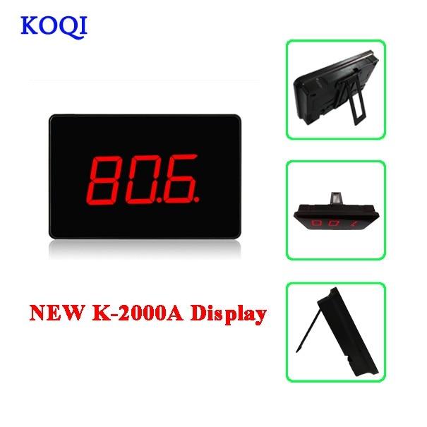 K-2000A display
