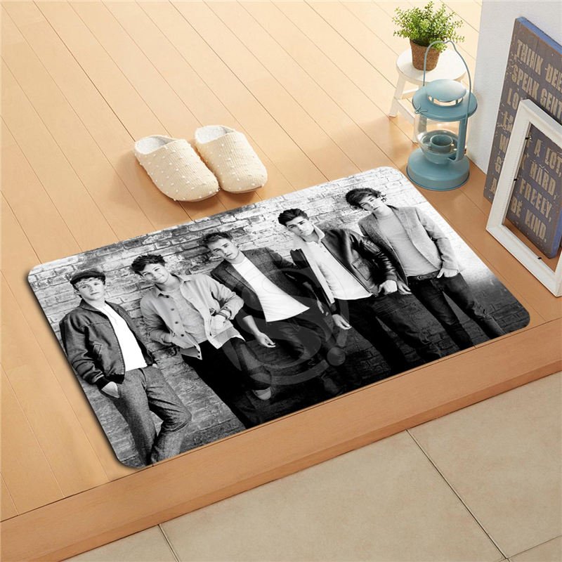 b265f& Custom One Direction Doormat Home Decor Door mat Floor Mat Bath Mats foot pad 265vmds-718k