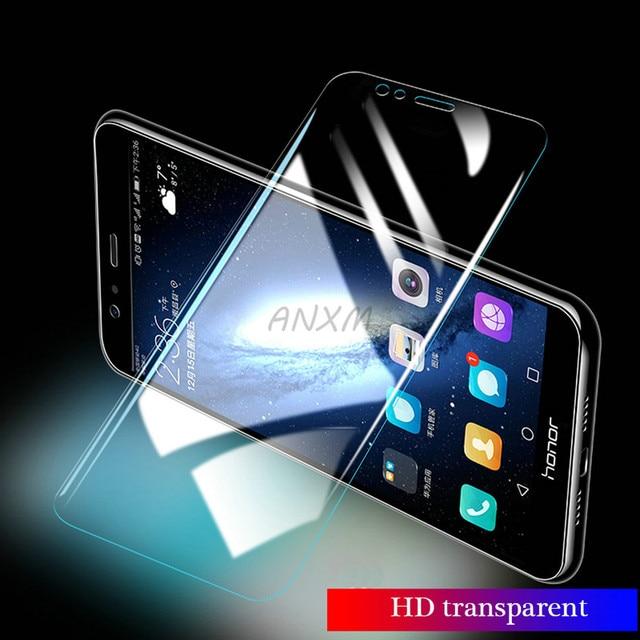 2 шт./лот закаленное стекло для Huawei Honor 8 lite Pro 8C защита экрана полное покрытие стекло для Huawei Honor 8 lite защитная пленка