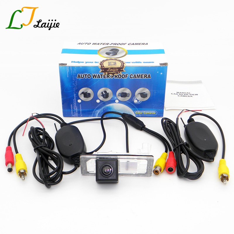 Laijie Auto Wireless Camera For Skoda Octavia III A7 Typ 5E MK3 2013 2017 HD Night