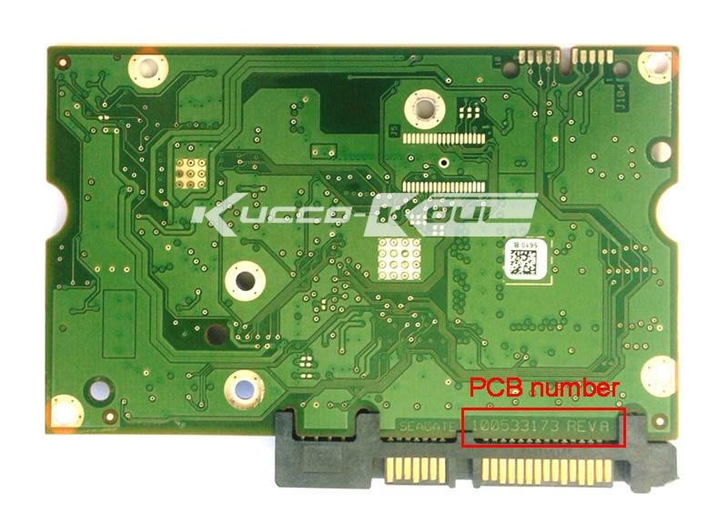 hard drive parts PCB board printed circuit board 100533173 for Seagate 3.5 SATA hdd data recovery hard drive repair ST32000540AS