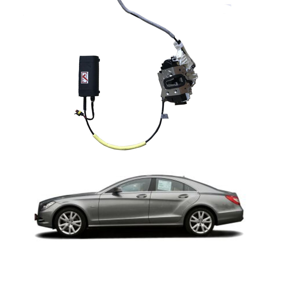 For Mercedes Benz C Class Series W205 2014-2018 Electric Suction Door Automobile Refitted Automatic Locks Car Accessories