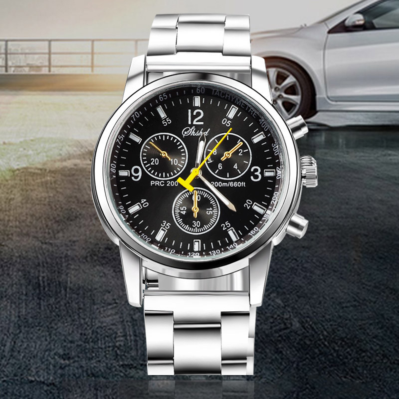 2018 New Mens Watches Top Luxury Brand Watch Men  Fashion Male Hours Business Quartz Watch WHITE AS PIC 4