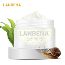 LANBENA Snail Cream Anti Wrinkle Aging Acne Treatment face whitening cream anti rimpel Moisturizing Firming Beauty