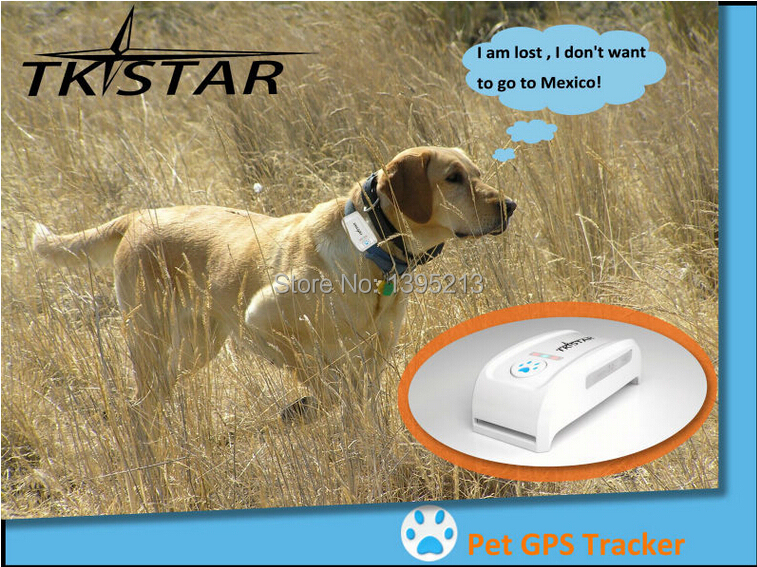 2015 New Waterproof and Lightness Pet GPS Tracking Device+Pet Tracker GPS Pet Tracker/IOS App and Andriod App Pet gps tracker