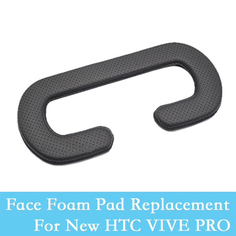 PU Leather Pad Face Foam Replacement Masks For 2st New HTC VIVE PRO Headset Polster VR F ...
