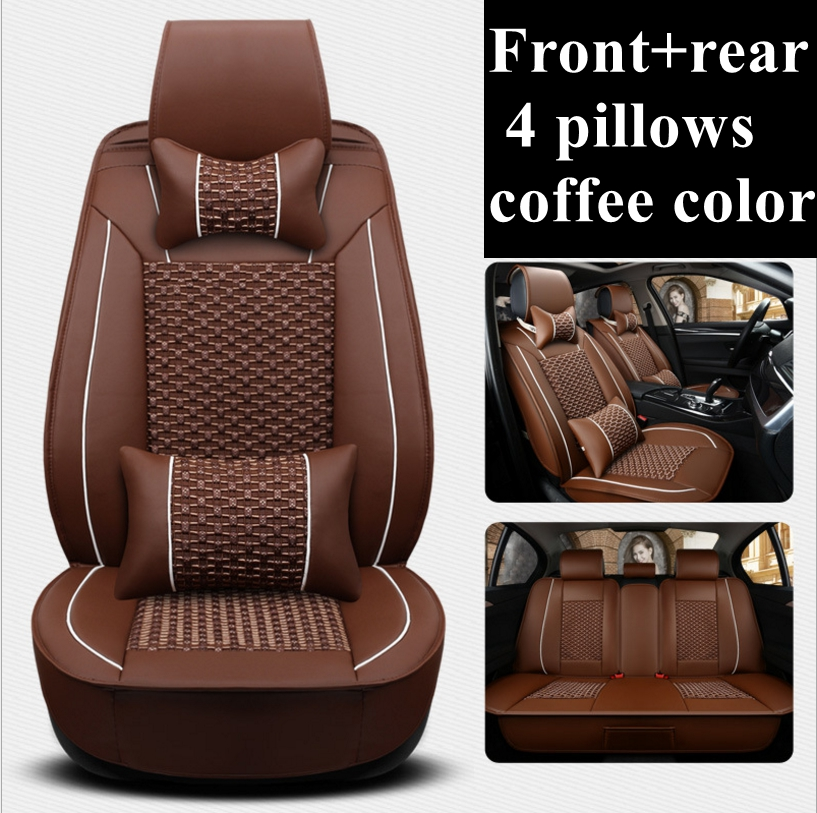 CM-B Black Universal Car Seat Covers Set for DACIA LODGY faux leather