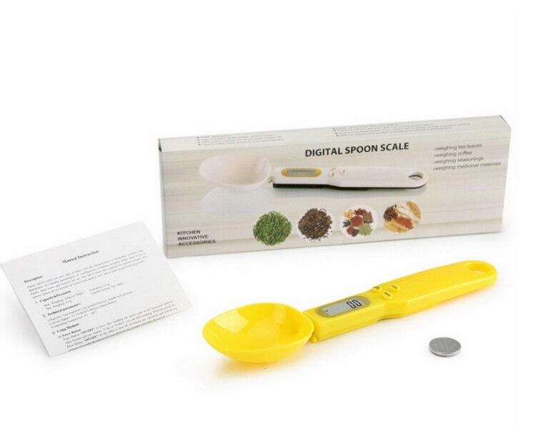 DHL 50 sztuk 500g/o pojemności 0.1g miarki z skala cyfrowy waga elektroniczna kuchnia pomiarowa łyżka w Miarki łyżkowe od Dom i ogród na  Grupa 1