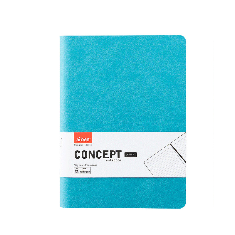 Soft Cover Thick Creative Notebook Diary Squared Journal