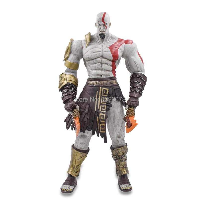 45cm neca jogos deus da guerra figura de ação fantasma sparta kratos figuras pvc edição final dos desenhos animados collectible modelo brinquedos quentes