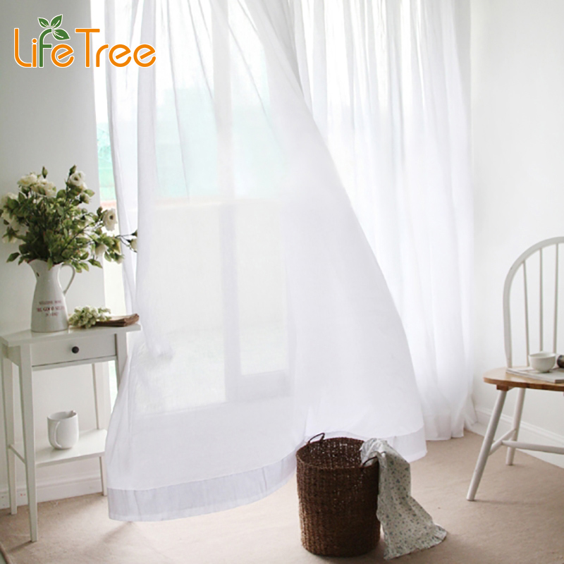 white sheer curtains promotionshop for promotional white sheer, Bedroom decor