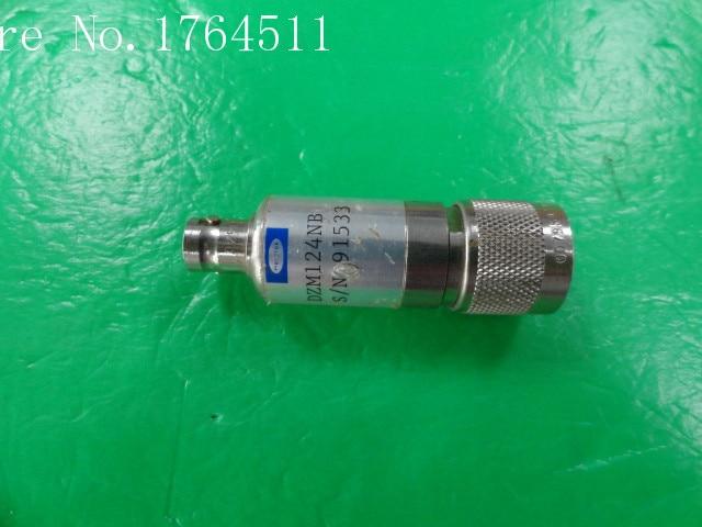 [BELLA] RF Coaxial Detector Herotek DZM124NB 0.01-12.4GHz N-BNC