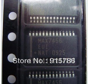 MAX7456EUI Single-Channel Monochrome On-Screen Display with EEPROM TSSOP28