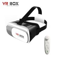"""Vr bucinum VR коробка 2.0 3D VR гарнитура VR 3D очки Поддержка 3.5-6.0 """"смартфонов отгрузки from Россия + контроллер Bluetooth"""