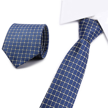 New fashion blue dot tie High Quality England style Stripe JACQUARD WOVEN Mens Tie Necktie 8cm business wedding ties Male Dress