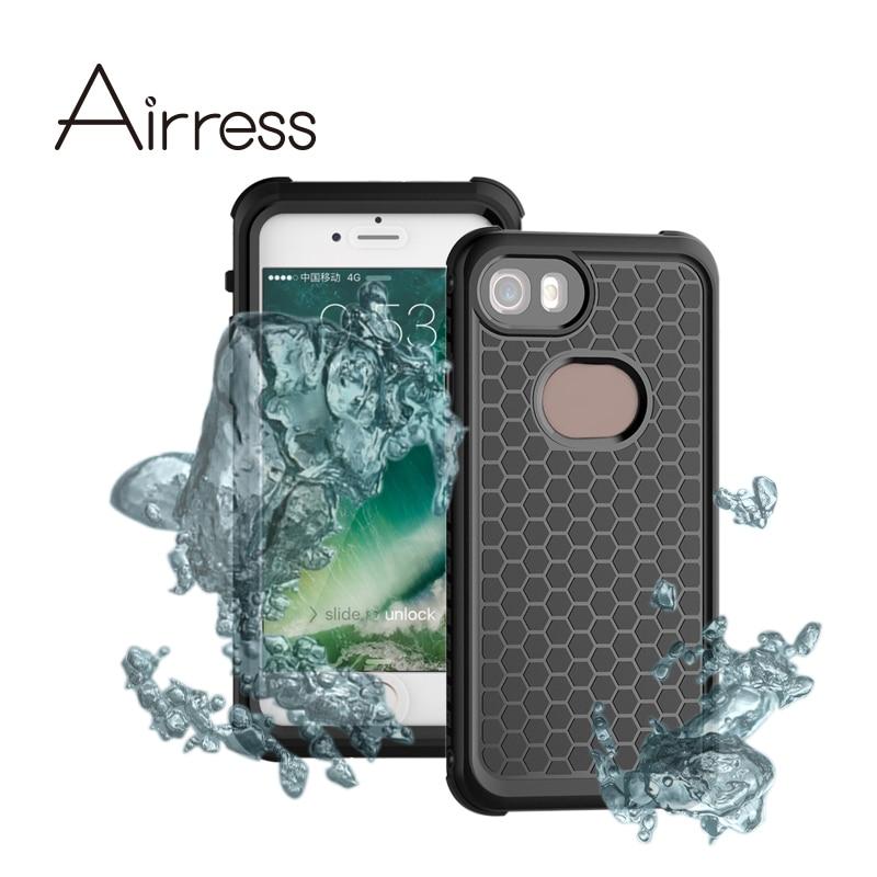 bilder für Airress multifunktions ultradünne Wasserdicht Staubdicht Stoßfest Handy Tasche für iphone 7