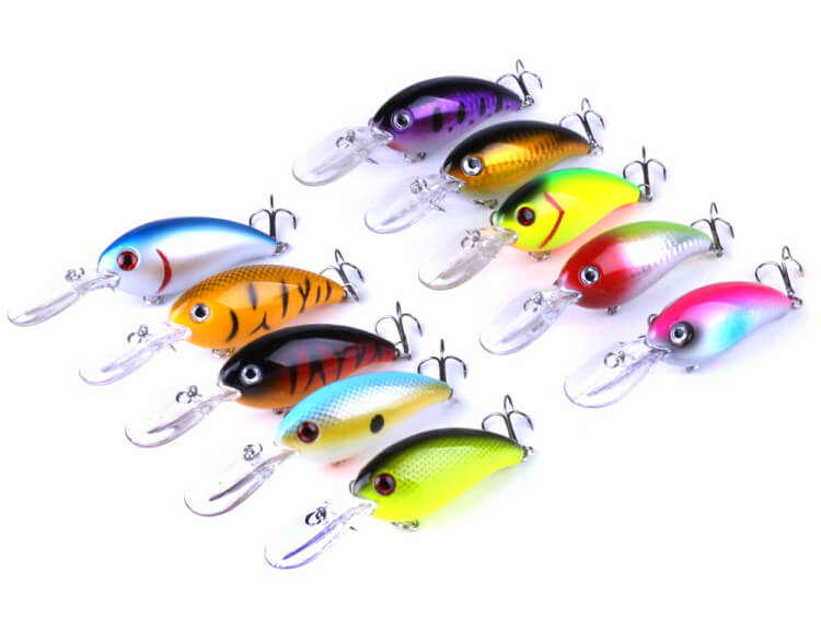 10pcs 10cm14g Plastic Fishing Minnow Lures Bass Baits Bionic Artificial Wobber Crankbaits Swimbait Slatwater Freshwater Tackle