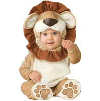 Spring Comfy Deluxe Plush Adorable Child Halloween Costume For Toddler Kids Lion Dog Monkey Tiger Favorite