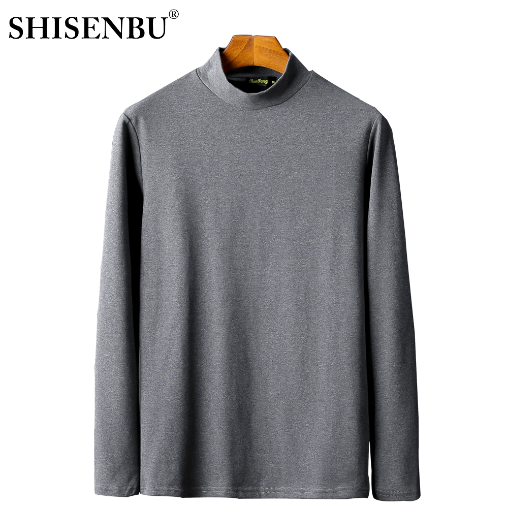 Male Underwear Shirt High Neck Winter Bodysuit Mens Warm Clothes Thermal Undershirts Thick Basic Tops Cotton Undershirt Tshirt (6)