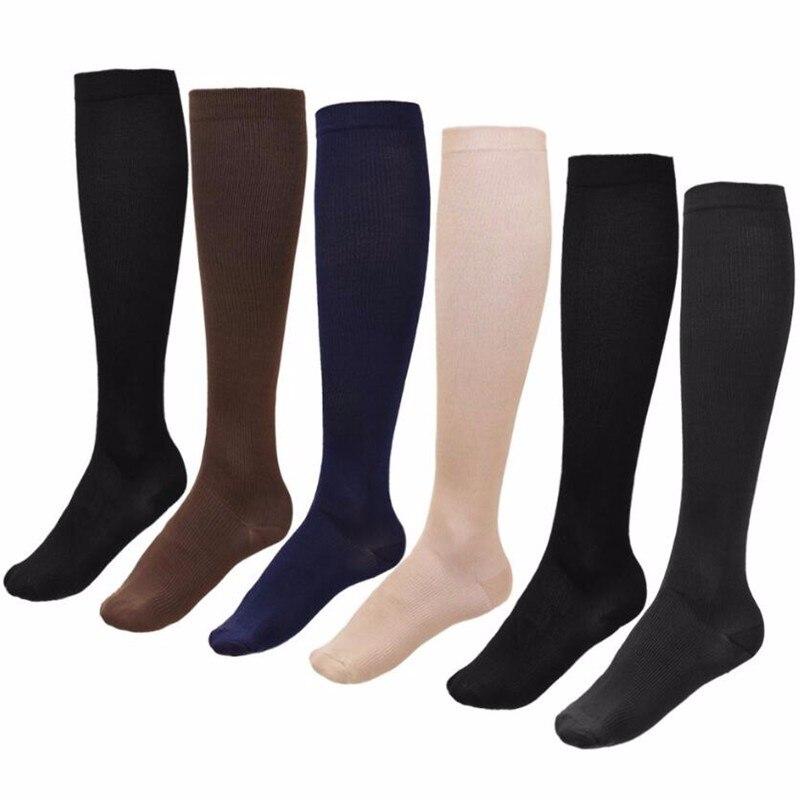 Compression Men Long   Socks   For Leg Care, Women Men Knee   Socks   Blood Circulation Stockings,Breathable Casual Mid-calf Slim   Sock