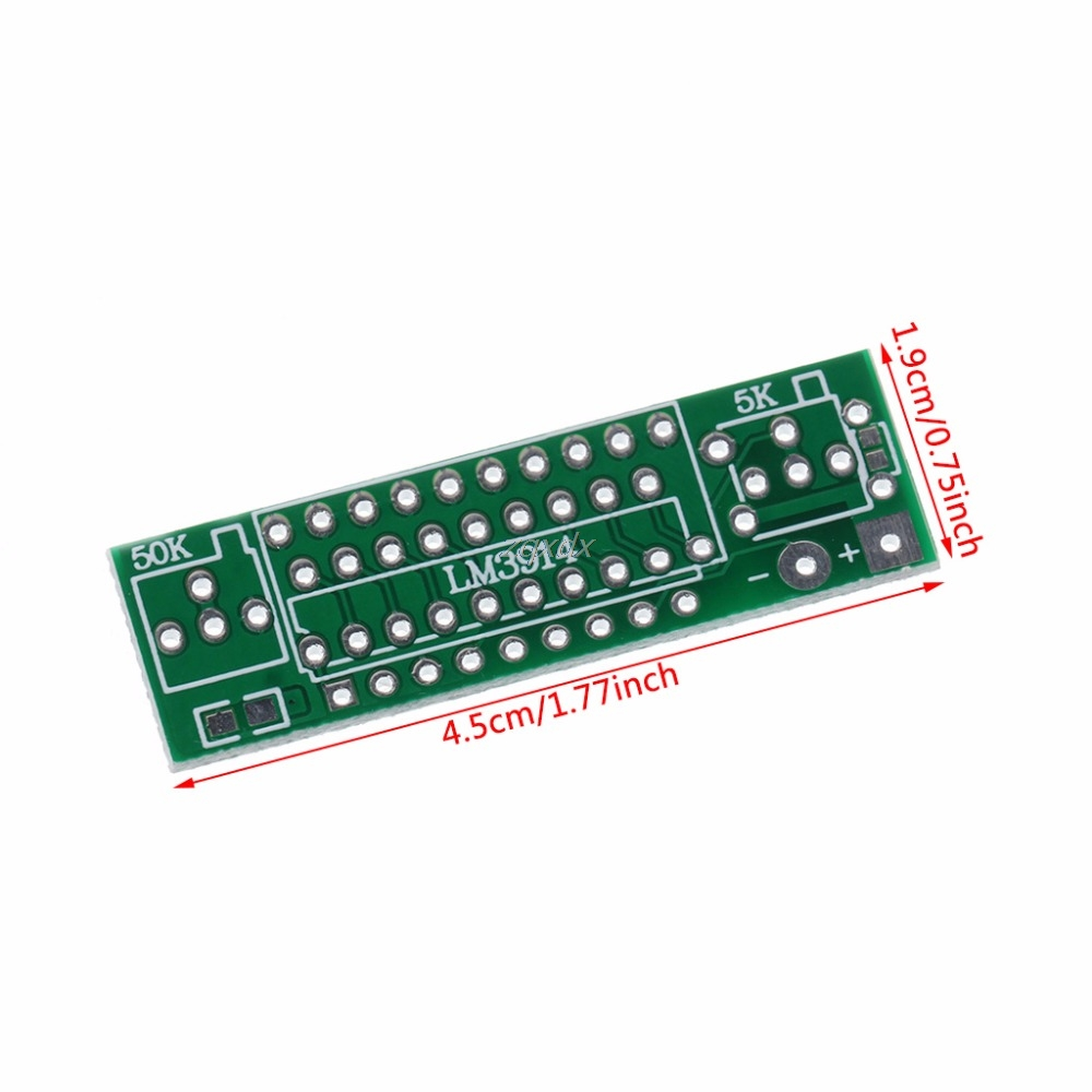 Lm3914 37v Lithium Battery Capacity Indicator Module Tester Led Display Board Circuit Integrated Circuits July Dropship In From Electronic