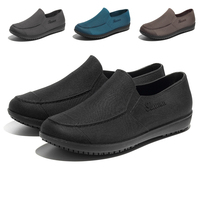 d45ff21c6 Men S Chef Shoes Breathable Waterproof Oil Proof Non Slip Male Kitchen  Working Shoes For Hospital