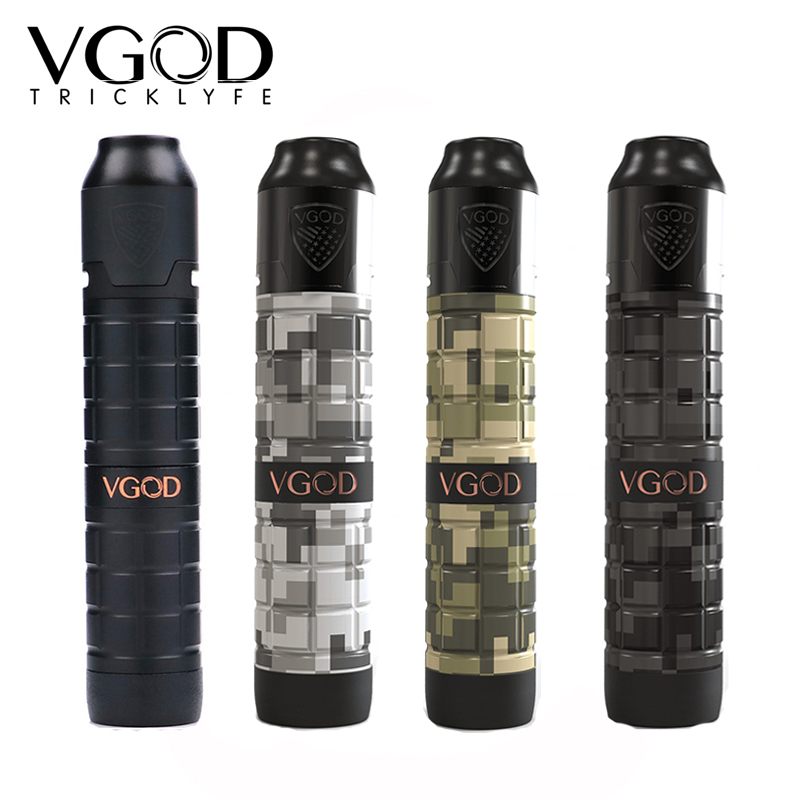 Original VGOD Pro Mech 2 Kit with 2ml VGOD Elite Rda pro mech 2 mod upgraded VGOD pro mech mod as vgod elite mod new vgod pro mech 2 kit vgod pro mech 2 mod vape with 2ml vgold elite rdta powered 18650 battery electronic cigarette vape kit