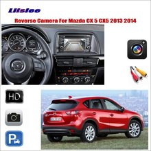 Liislee Car Reverse Rear View Camera For Mazda CX-5 CX 5 CX5 2013 2014 / Connect The Original Factory Screen / RCA Adapter for mazda cx 5 cx 5 cx5 2012 2017 ccd night vision intelligent car parking camera with tracks module rear camera