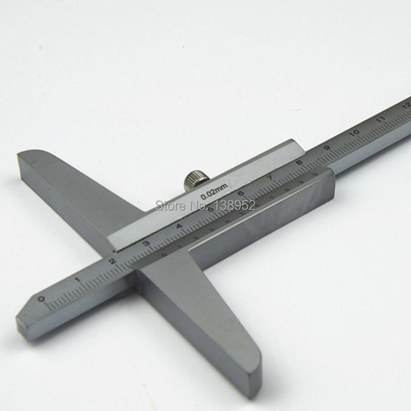 Верньер глубины 0-150 мм/0,02 мм Глубина суппорт микрометр измерительные инструменты мини штангенциркуль калибровочный микрометр