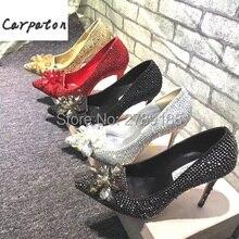 carpaton Cinderella Women Pumps High thin Heels Pointed Toe. US  56.18    piece Free Shipping f458630e57a4