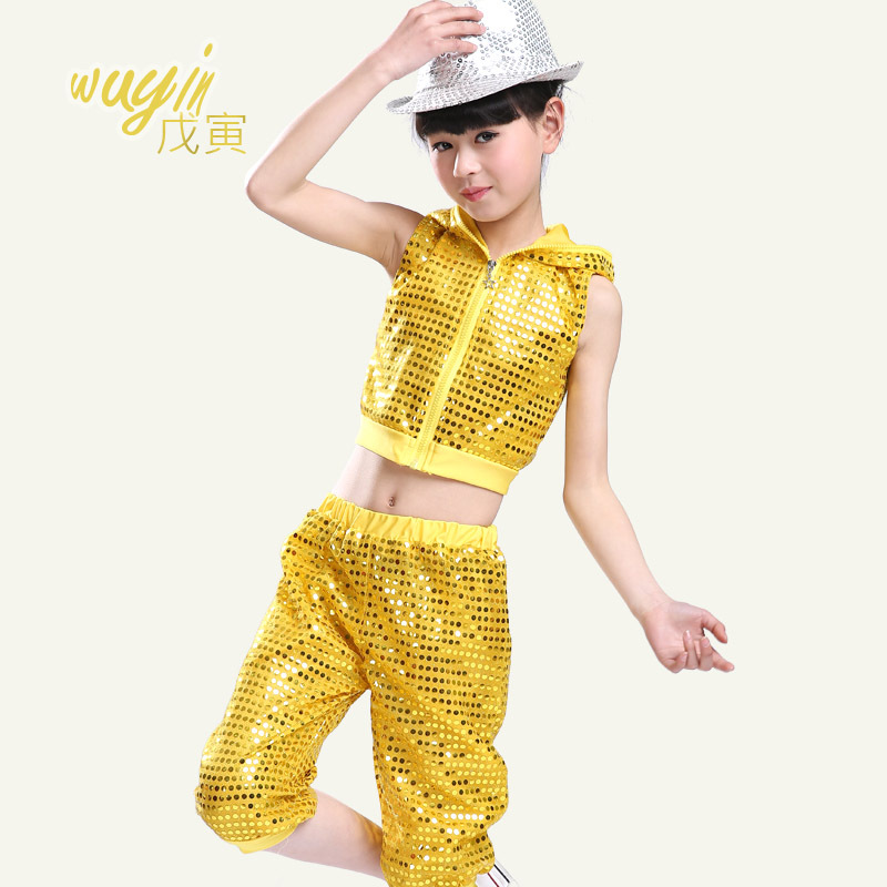 be63e00a8c66 ⑦Children  s performance clothing boys and girls hip - hop costumes ...