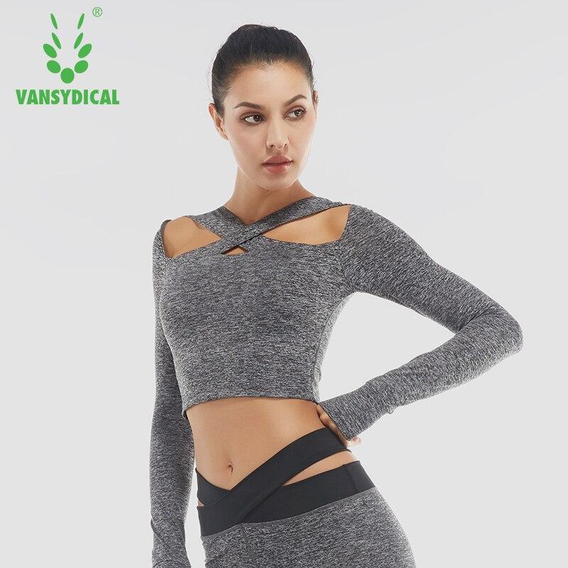 Women running shirt Yoga Active Workout shirt Sports