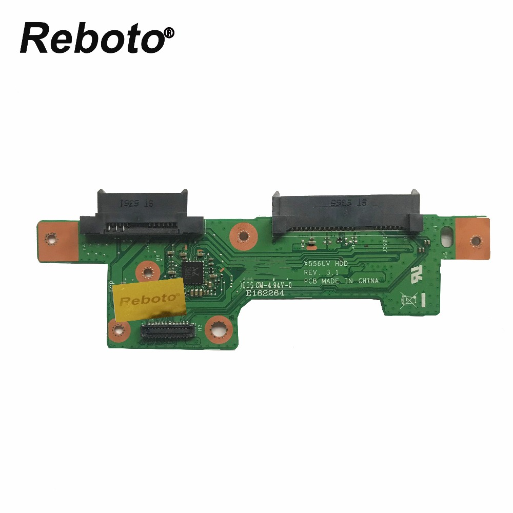 Reboto Original High quality PC For ASUS X556U X556UV X556UJ HDD BOARD X556UV REV 3 1