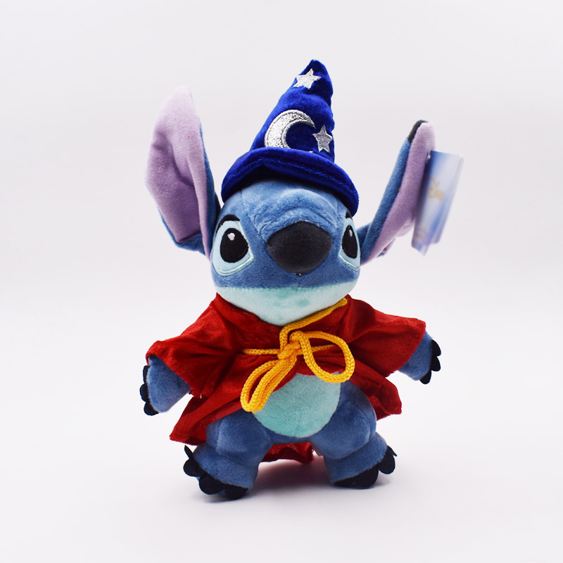 25cm Stitch Kawaii Magic Stitch Peluche Toy Cartoon Anime Plush Toys Baby Soft Stuffed Dolls Gift For Kid Free Shipping
