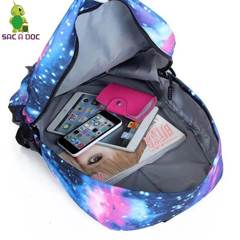 ... GhostbustersOne Punch Totoro Backpack Galaxy School Bags for Teenage  Girls Boys Students Book Bag Women Men ... e53d8646b8