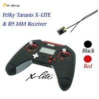 FrSky taranis X LITE/X Lite Pro 2,4 ГГц ACCST 16CH RC передатчик дистанционного Управление W/R9 мм Приемник красные, черные для Радиоуправляемый Дрон модели