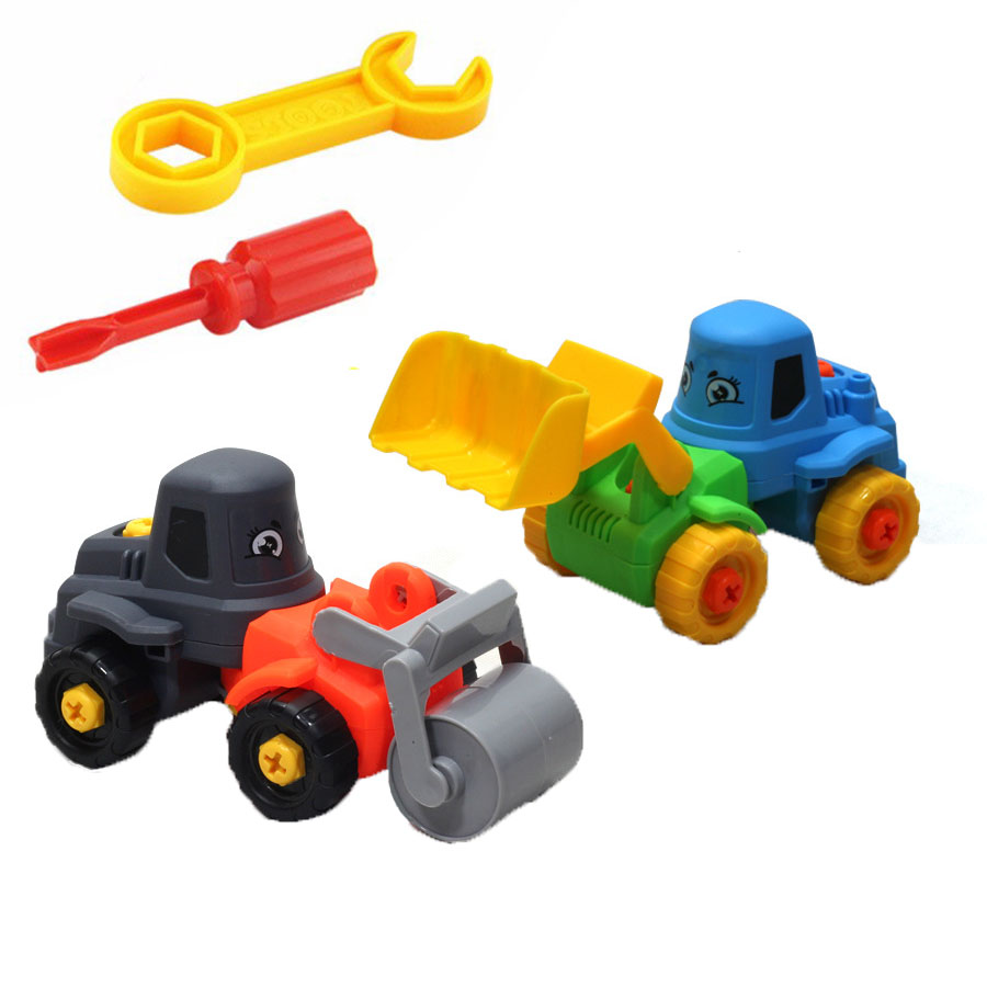 20cm DIY Screw Nut Group Disassembly Toys Car Large Building Blocks Truck Car Learning Education Tools for Kids image