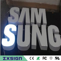 Factoy Outlet Outdoor Brightest Resin Inside Stainless Steel Side Back LED Channel Letter