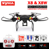 Syma X8 X8W X8G X8HW X8HG RC Drone NO Camera 2.4G 4CH 6Axis Landing Upgrade RC Quadcopter Helicopter Can Fit Action Camera