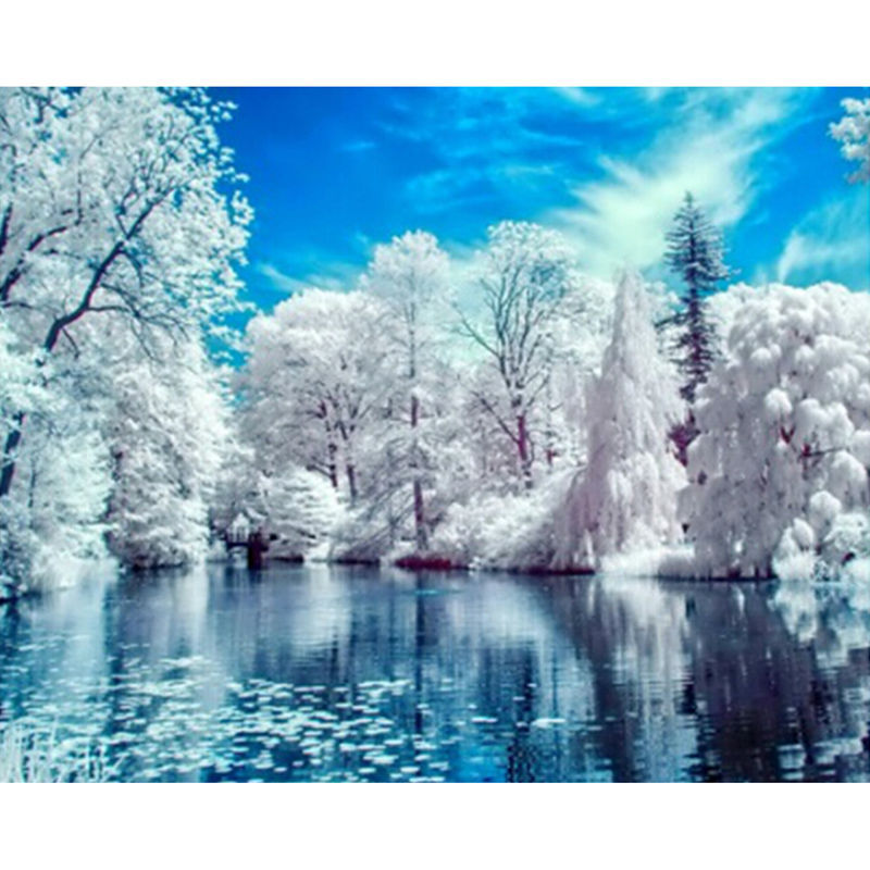 Achetez en gros paysage de neige en ligne des grossistes Beautiful snowfall pictures
