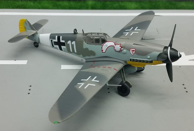 TRUMPETER 1:72 German BF109G6 Fighter Model 37256 Favorite Military Model