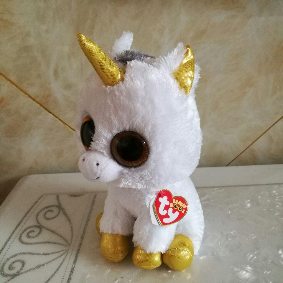 Pegasus unicorno ty 1pc 25 CENTIMETRI 10 \