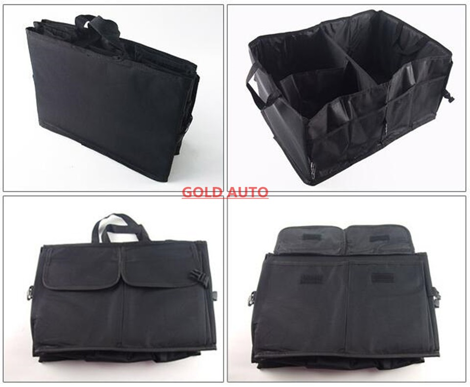Car Storage Box Car Trunk Folding Storage Bag Car Glove Box Car Article Storage Car Kits Practical And Durable Multifunction 7