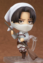 Attack on Titan Cleaning Levi Action Figure