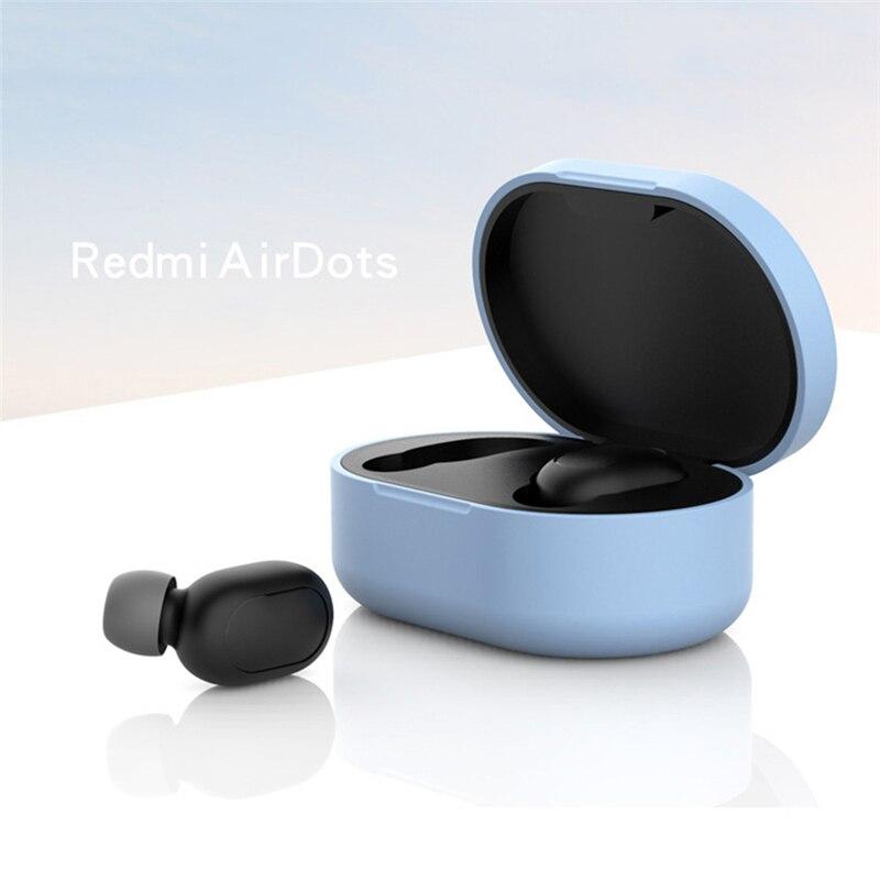 Новое поступление силиконовый защитный чехол для наушников для Xiaomi Redmi Airdot TWS Bluetooth наушники модная версия беспроводной - Цвет: Type-G