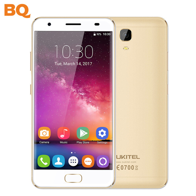 OUKITEL K6000 PLUS 5.5 Inch FHD MTK6750T Octa Core 16MP Smartphone 4GB RAM 64GB ROM 12V/2A 6080MAH battery Mobile Phone