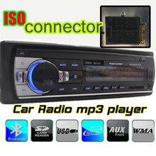 2015 ¡Nuevo! Reproductor de radio de coche, Soporte diente azul, responder / colgar el teléfono USB SD AUX IN, 12V 1 din car audio, estéreo del coche mp3