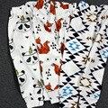 Дети поножи мальчики девочки одежда детская одежда брюки шаровары колготки штаны леггинсы малыш панда марка полосатые брюки