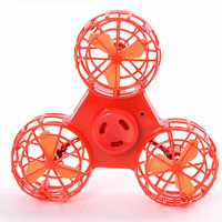 LeadingStar Mini Fidget Spinner Hand Flying Spinning Top Autism Anxiety Stress Release Toy Great Funny Gift