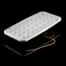 Car Ceiling Light: 1pc 36 LED SMD 12V Car Ceiling Dome Roof Interior Light Lamp On/Off Switch  Practical Car Styling,Lighting